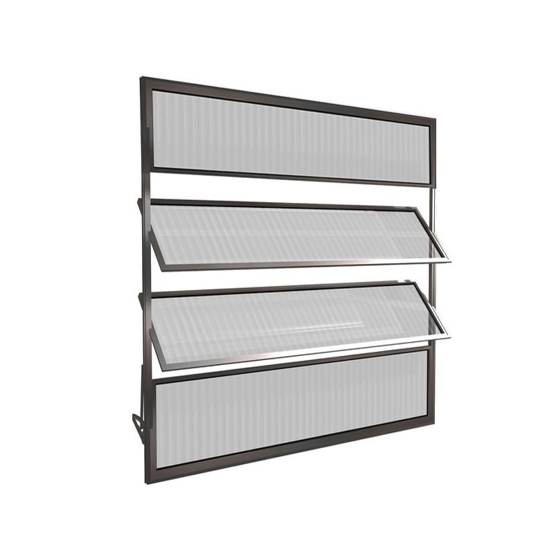 Basculante Aluminio Com 4 Folhas 80 x 80 78 Clm