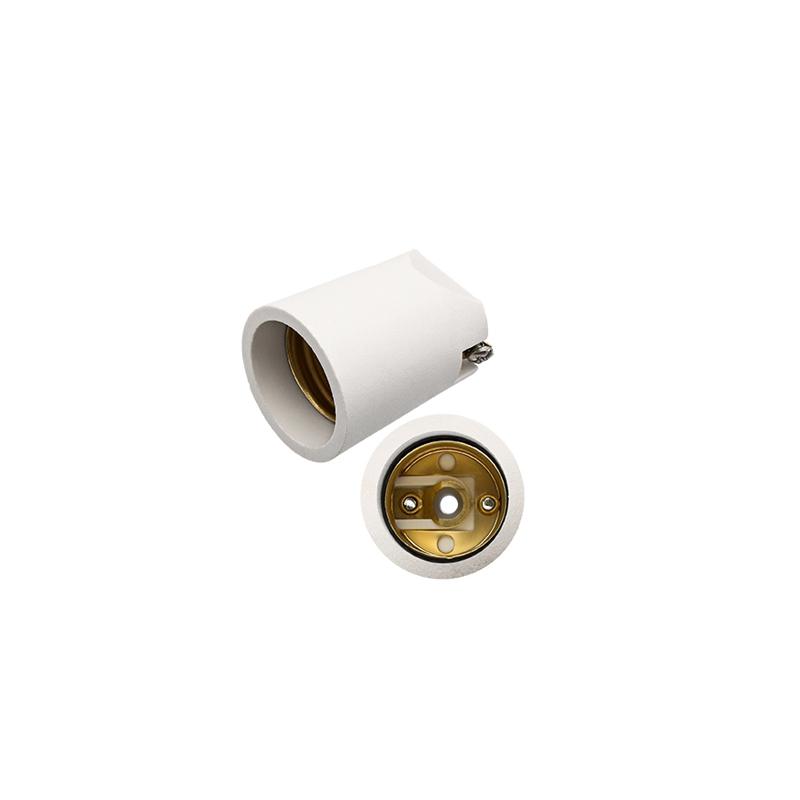 Bocal Porcelana E-27 1021132 FLP