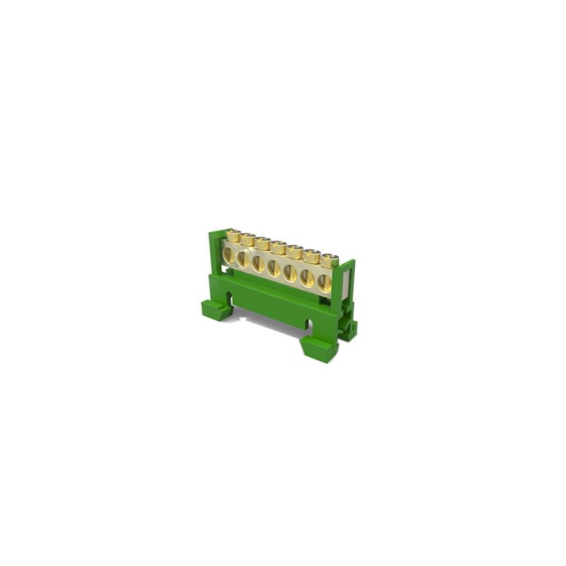 Borneira 7 Furos Verde Sbtn-E7T Enerbras