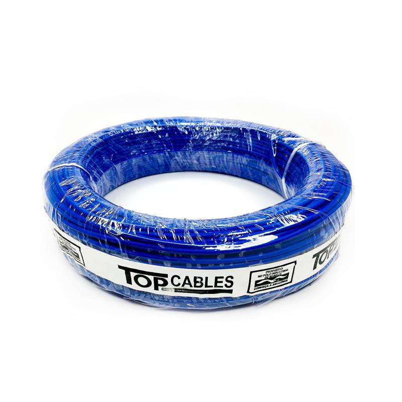 Cabo Elétrico 4,0mm Azul Peça Top Cables