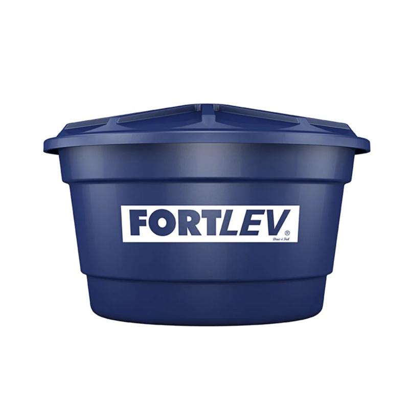 Caixa D'Água 1000L Com Tampa Polietileno Fortlev