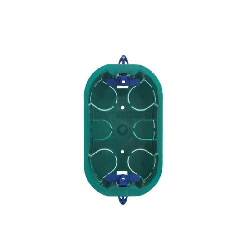 Caixa De Luz 4 x 2 Drywall Verde Astra