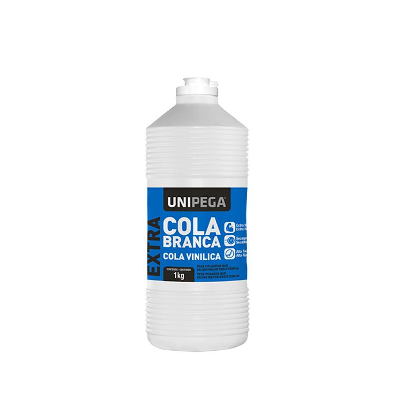 Cola Extra Branca 1Kg Unipega