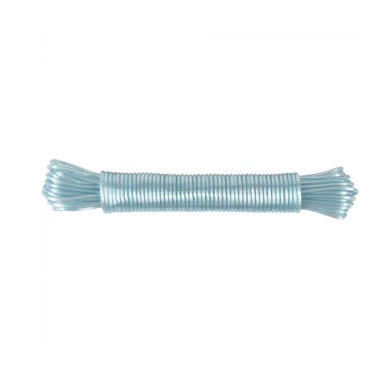 Corda Para Varal Revestida 15M Mor