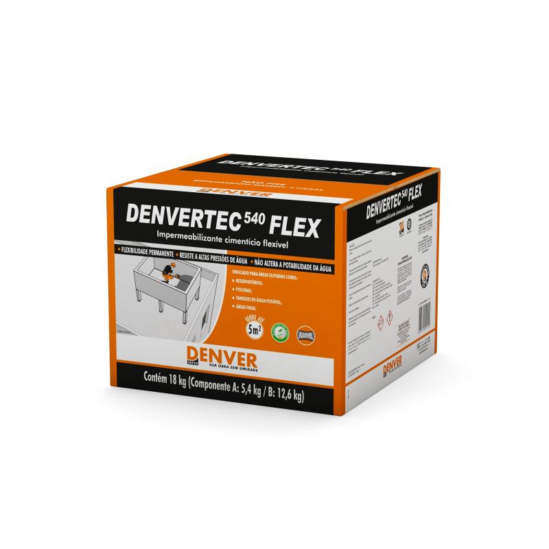 Denvertec 540 Flexivel Caixa 18KG Denver