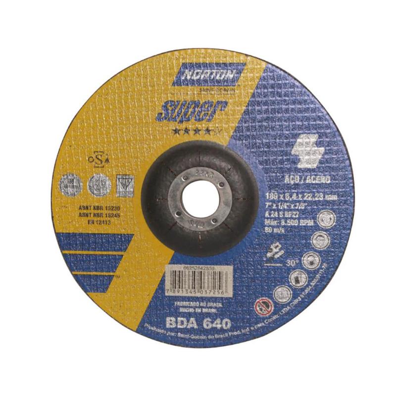 Disco Desbaste 7X14X78' Norton
