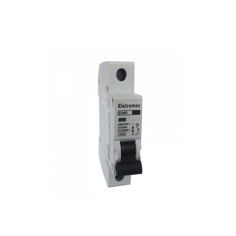 Disjuntor Monofásico 1P 10A 3 KA Eletromec