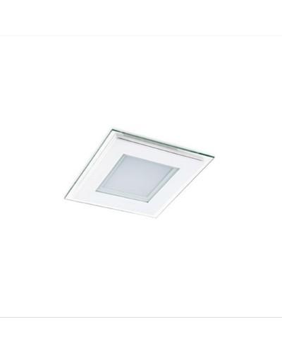 Plafon Embutir Com Led Aluminio Branco 6V L31106D