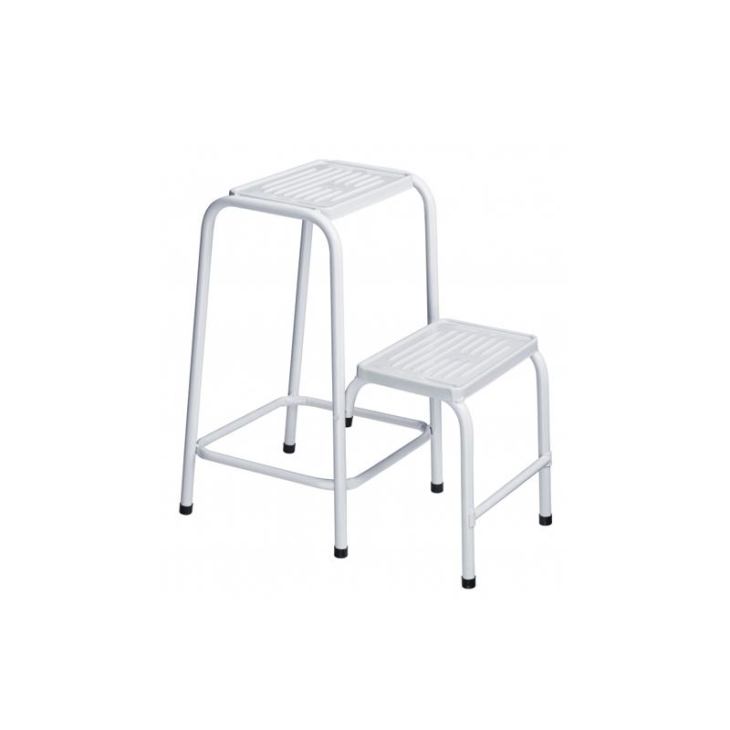 Escada De Aço Com 2 Degraus EP300 Utimil