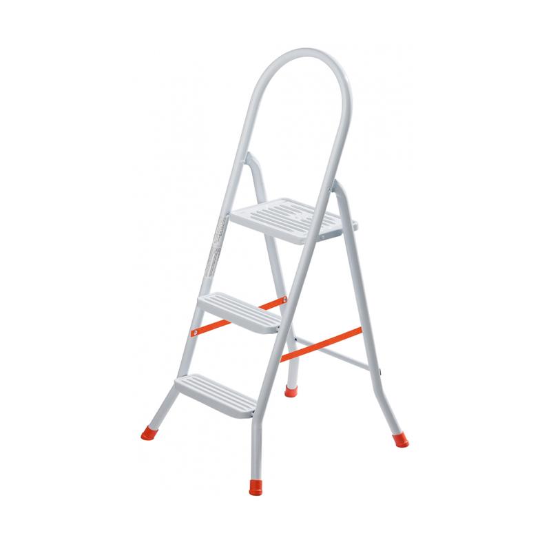 Escada De Aço Com 3 Degraus Maxutil EP317 Utimil