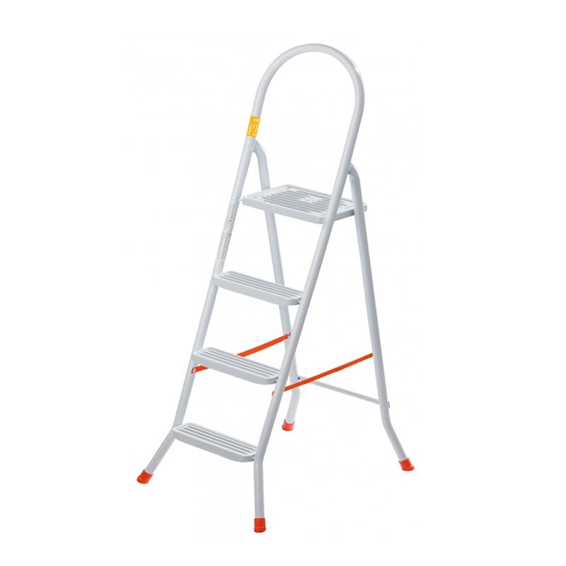 Escada De Aço Com 4 Degraus Maxutil EP316 Utimil