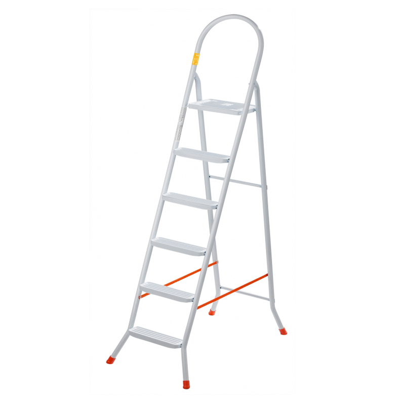 Escada De Aço Com 6 Degraus Maxutil EP320 Utimil