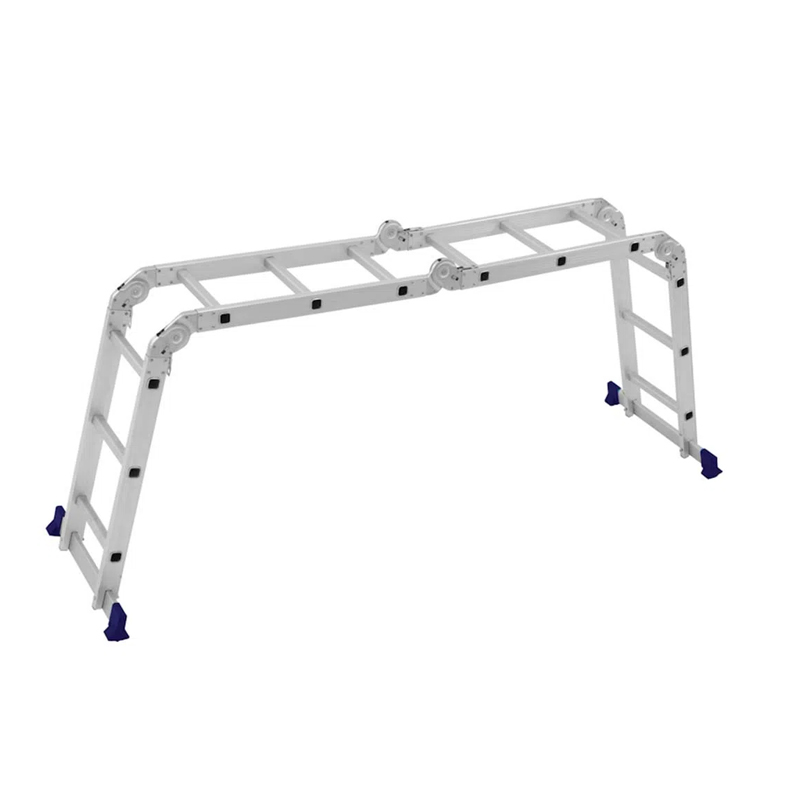 Escada De Alumínio Multiuso Com Plataforma 4 x 3 Mor