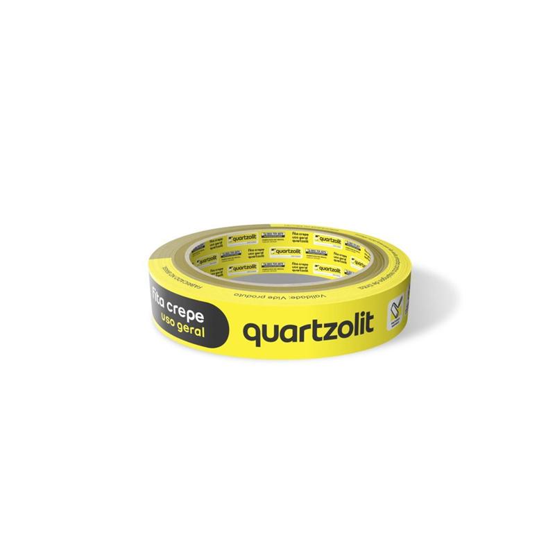 Fita Crepe 18 x 50 Uso Geral Quartzolit