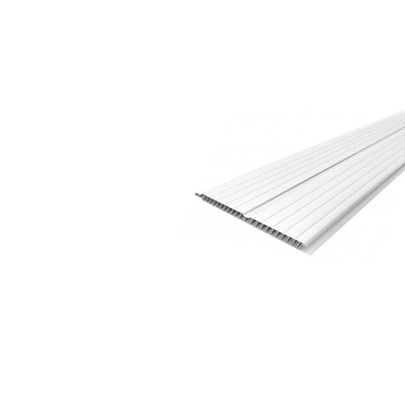 Forro PVC Canelado Branco Multilit-Plasflex