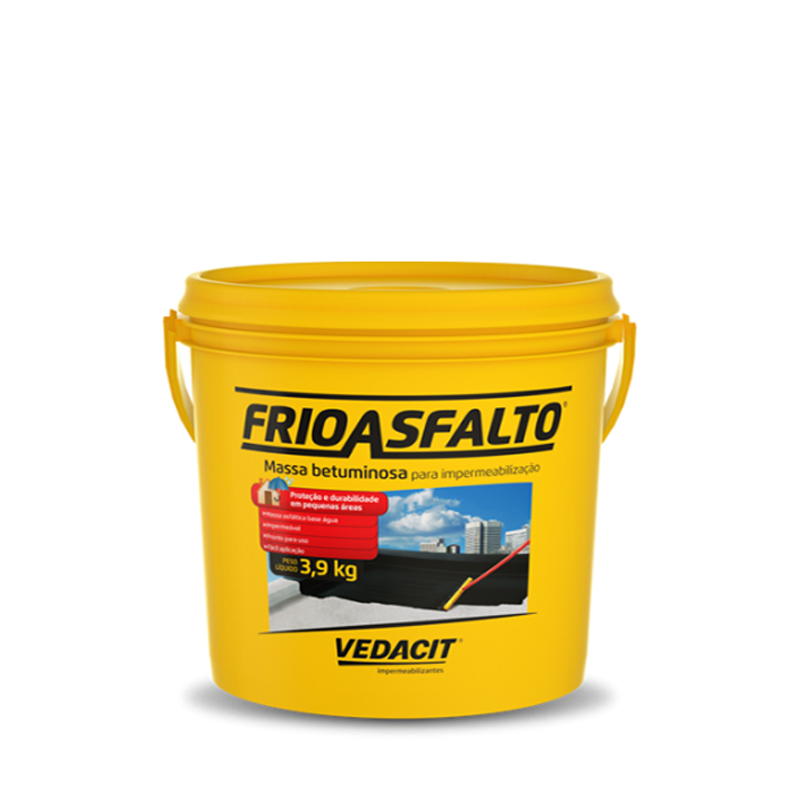 Frio Asfalto 3,6L Vedacit