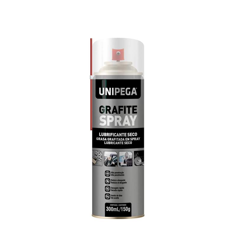 Grafite Em Spray 300mL Unipega