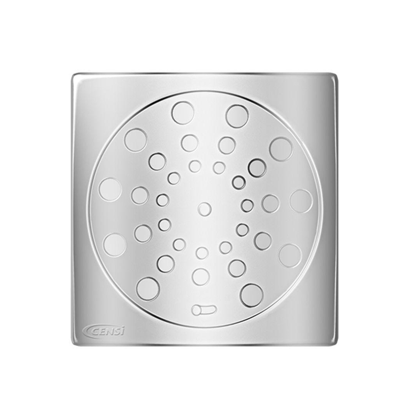 Grelha Aço Inox Quadrado 150mm 7721-1 Censi