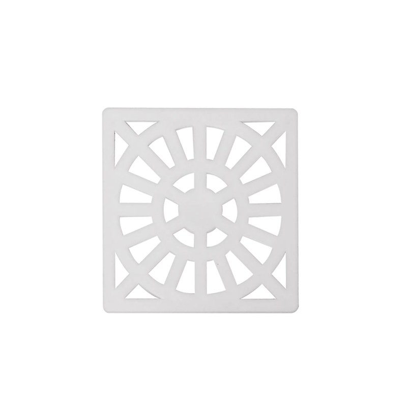 Grelha Plástica Quadrada 100mm Gr9 Astra