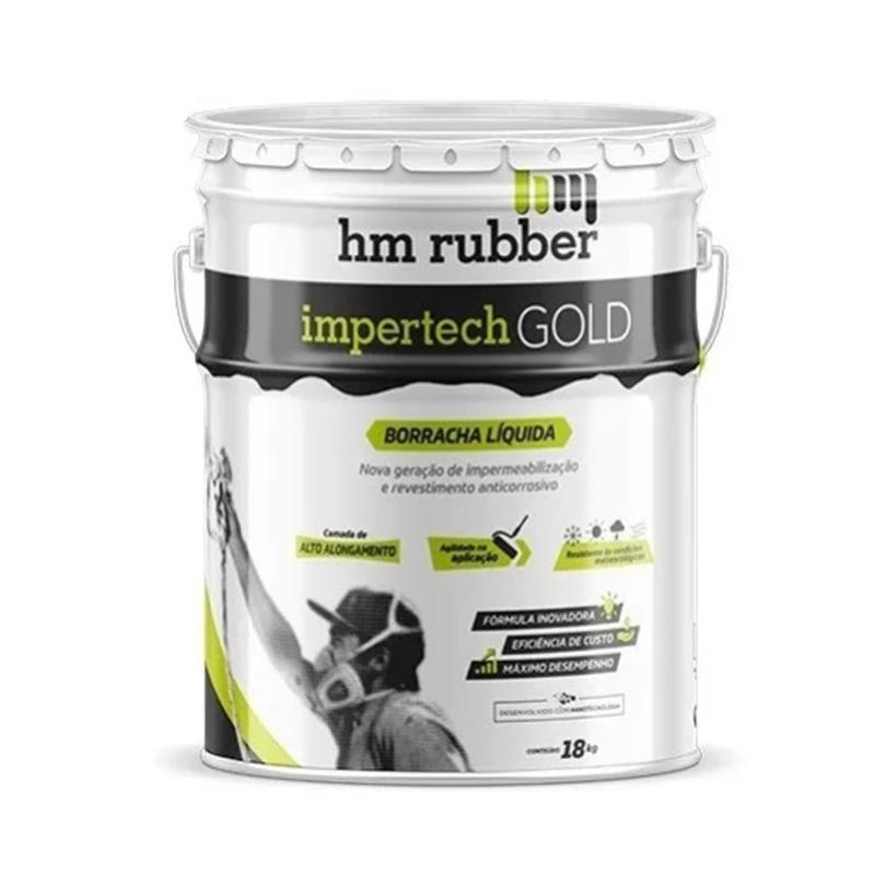 Impertech Gold 18Kg Cinza Hm Rubber