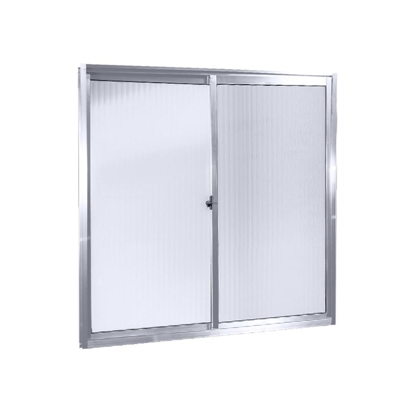 Janela Alumínio 1,00A x 1,20L 2 Folhas Sem Grade 85 Clm