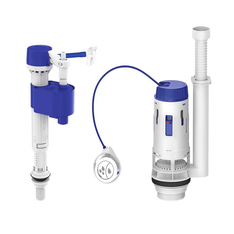 Kit Completo Para Caixa Acoplada Dual Flush 9562 Censi