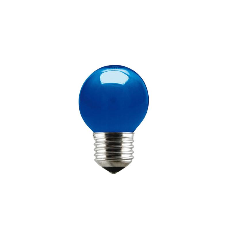 Lampada Bolinha Azul 15W 127V Taschibra