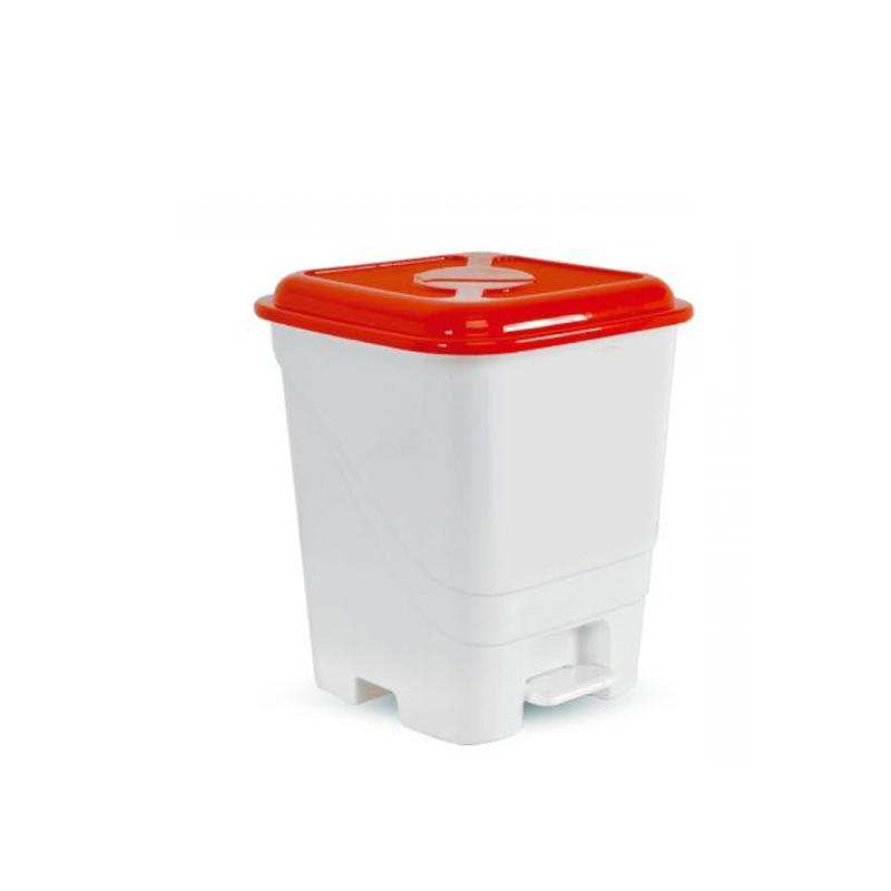 Lixeira Com Pedal 14L Aqua 6824 Inplast
