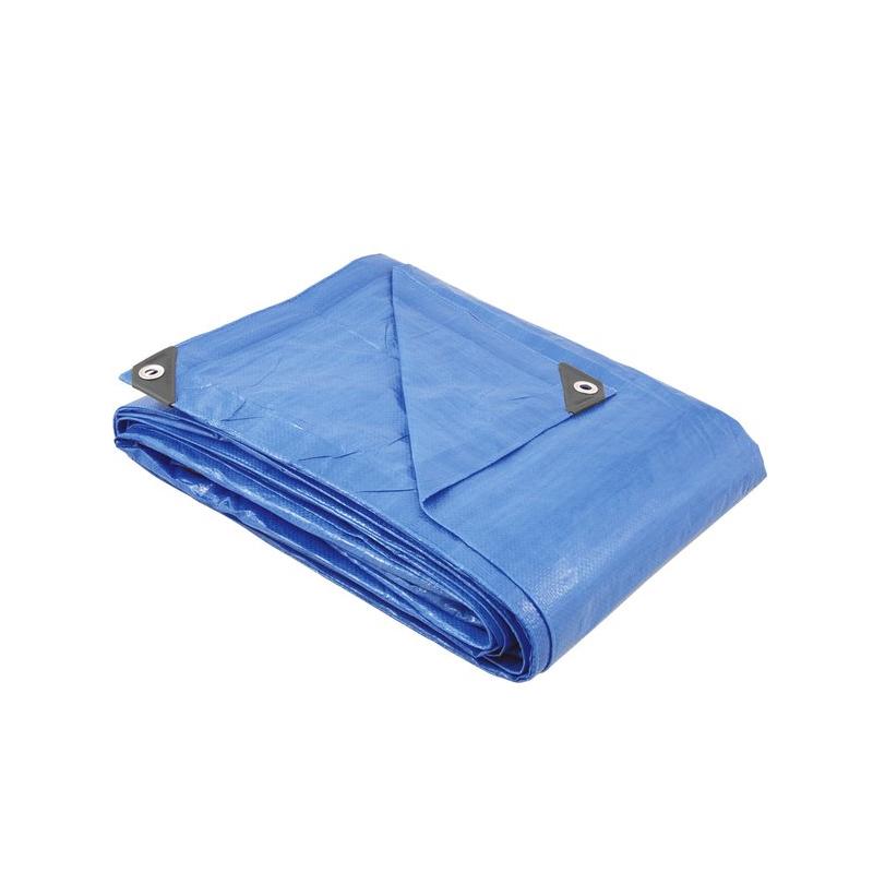 Lona Polietileno 5 x 4M Azul Vonder
