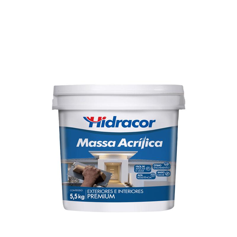 Massa Acrilica 5,5Kg Hidracor