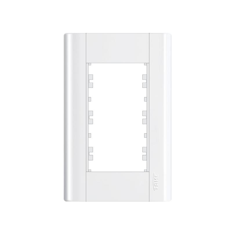 Placa 4 x 2 Para 3 Modulos Modulare 0085 Fame
