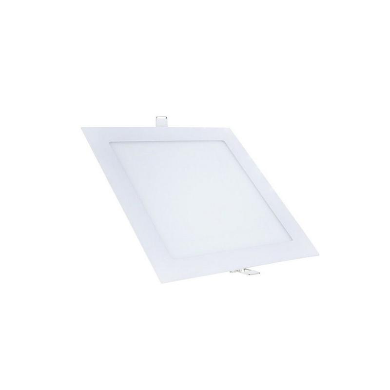 Plafon Embutir Led Branco Quadrado 12W 6500K Qluz