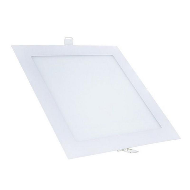 Plafon Embutir Led Branco Quadrado 24W 6500K Qluz