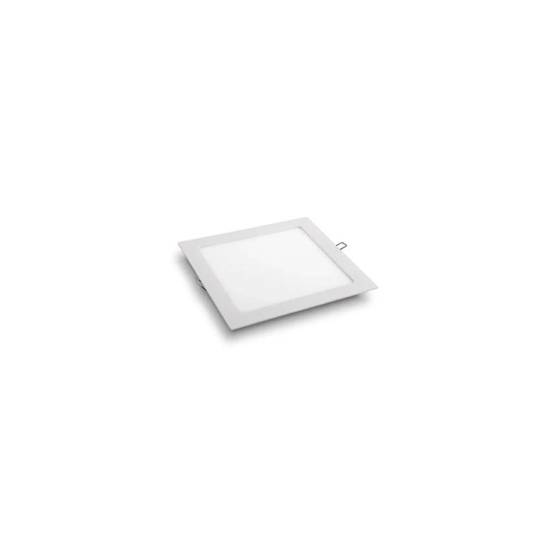Plafon Embutir Led Branco Quadrado 6W 6500K Qluz