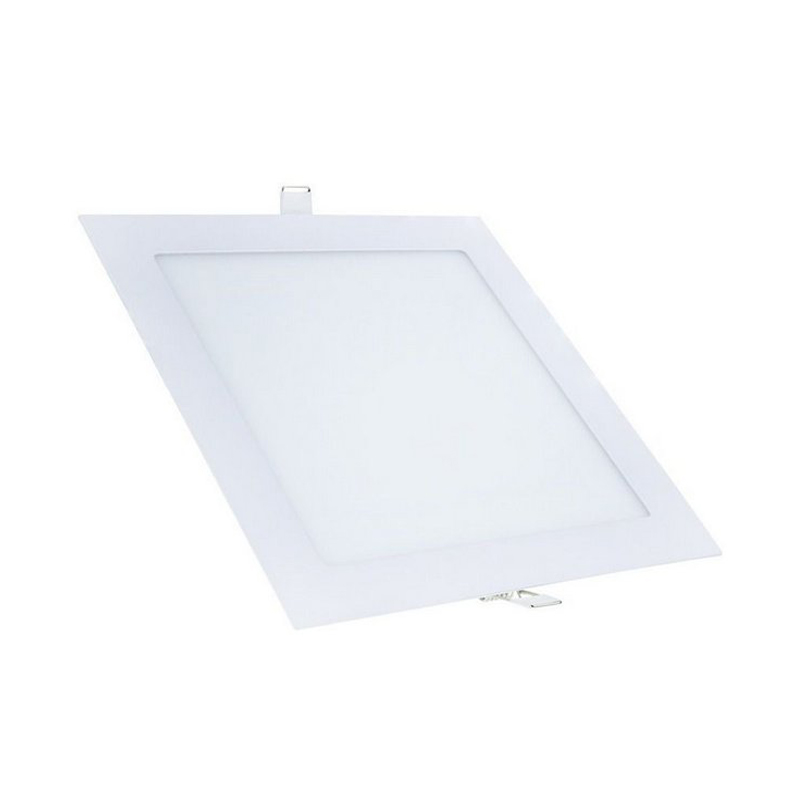 Plafon Embutir De Led Branco Quadrado 18W Qluz