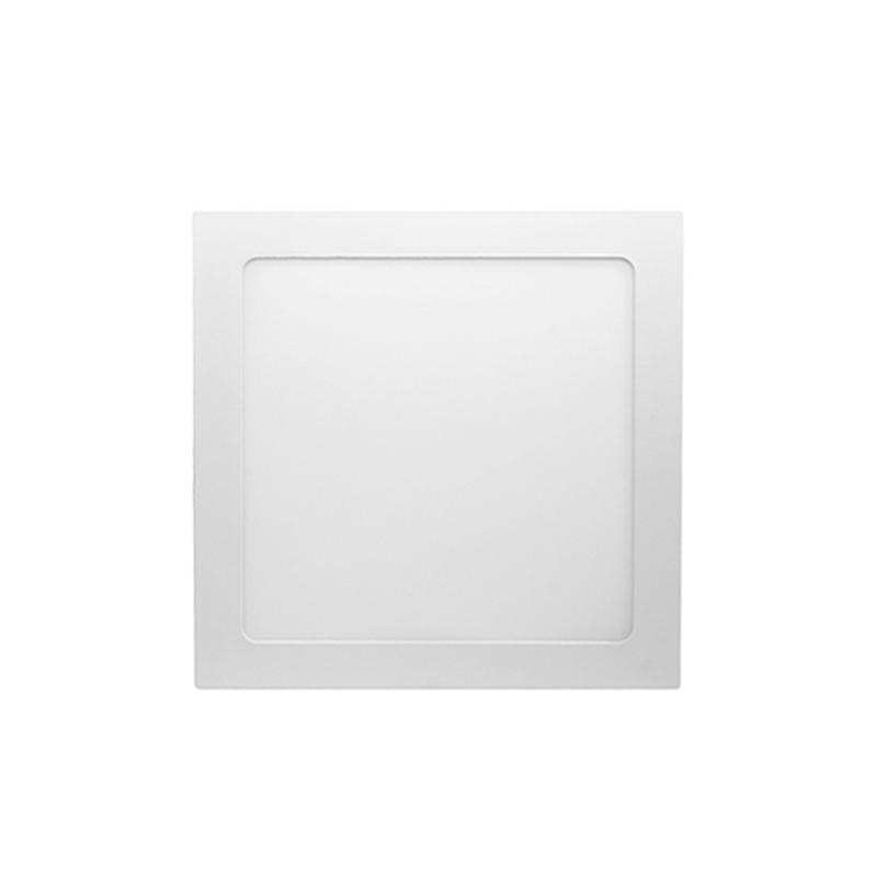 Plafon Led Embutir Branco Quadrado 18W 6000K Kian