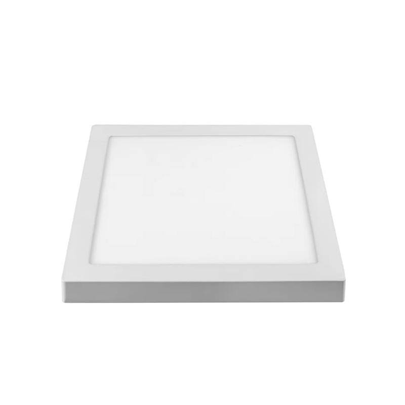 Plafon Sobrepor Led Branco Quadrado 18W 6500K Artek