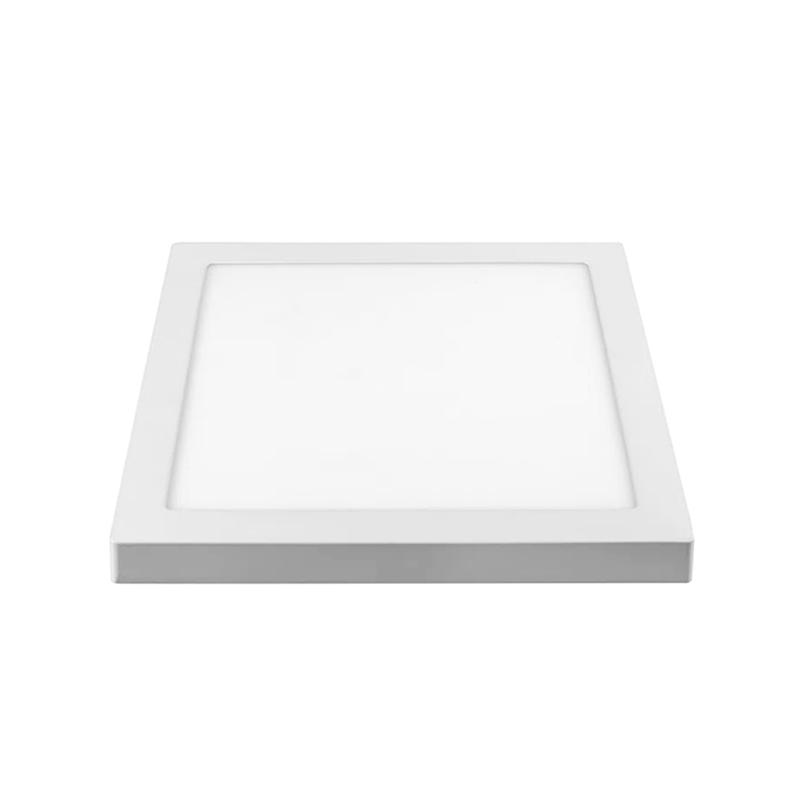 Plafon Sobrepor Led Branco Quadrado 18W 6500K Qluz