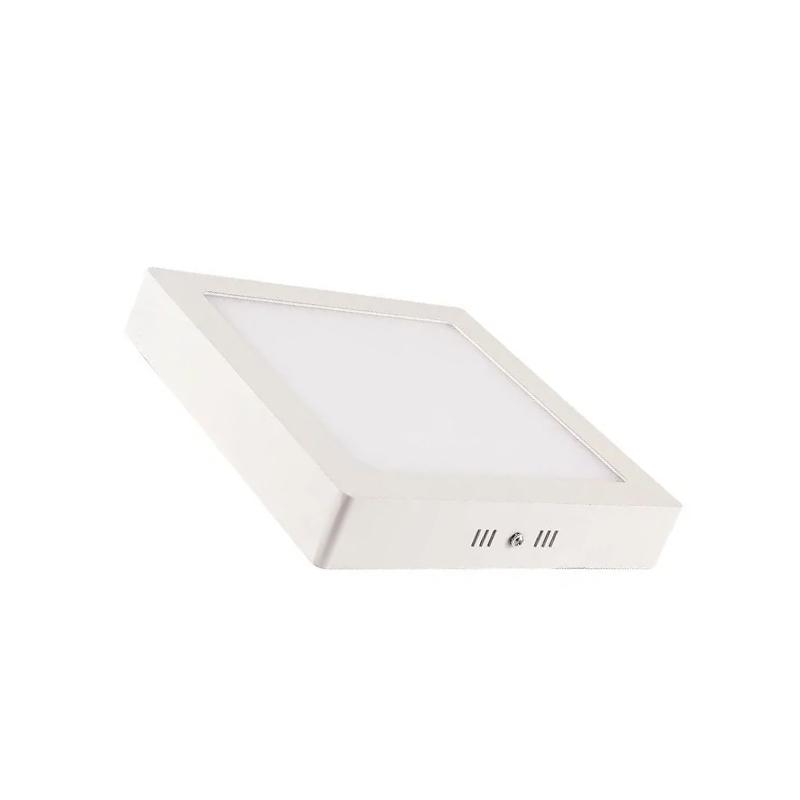Plafon Sobrepor Led Branco Quadrado 18W 80806004 Blumenau