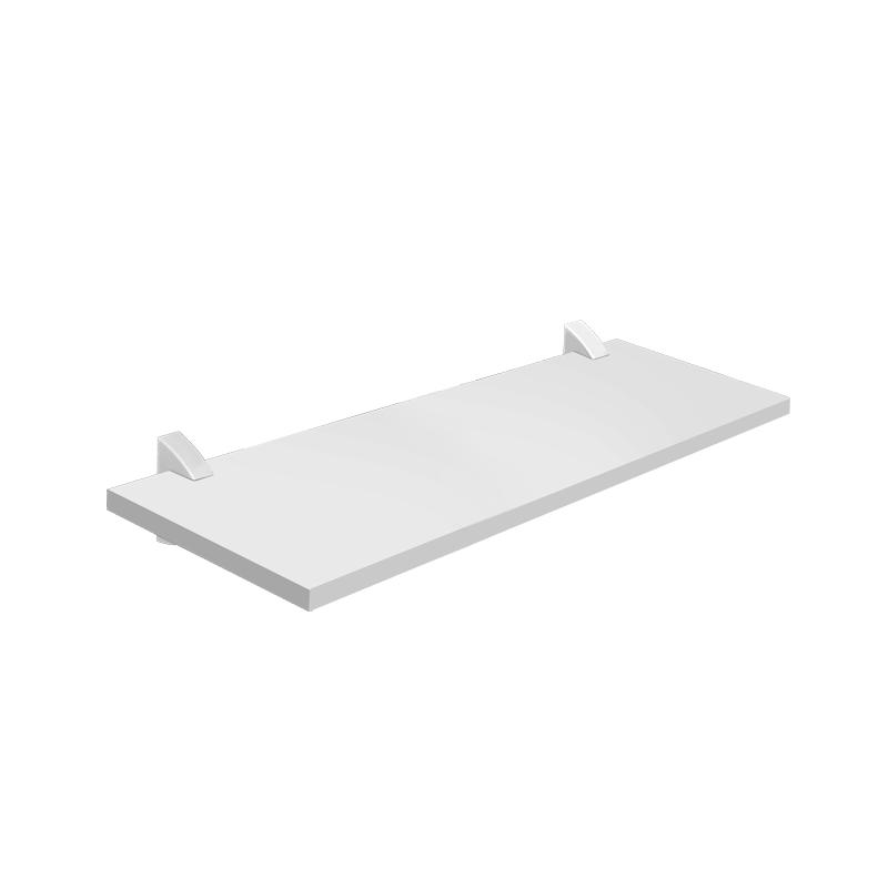Prateleira Concept Com Suporte 20 x 60Cm Branca 08850.020 Prat-K
