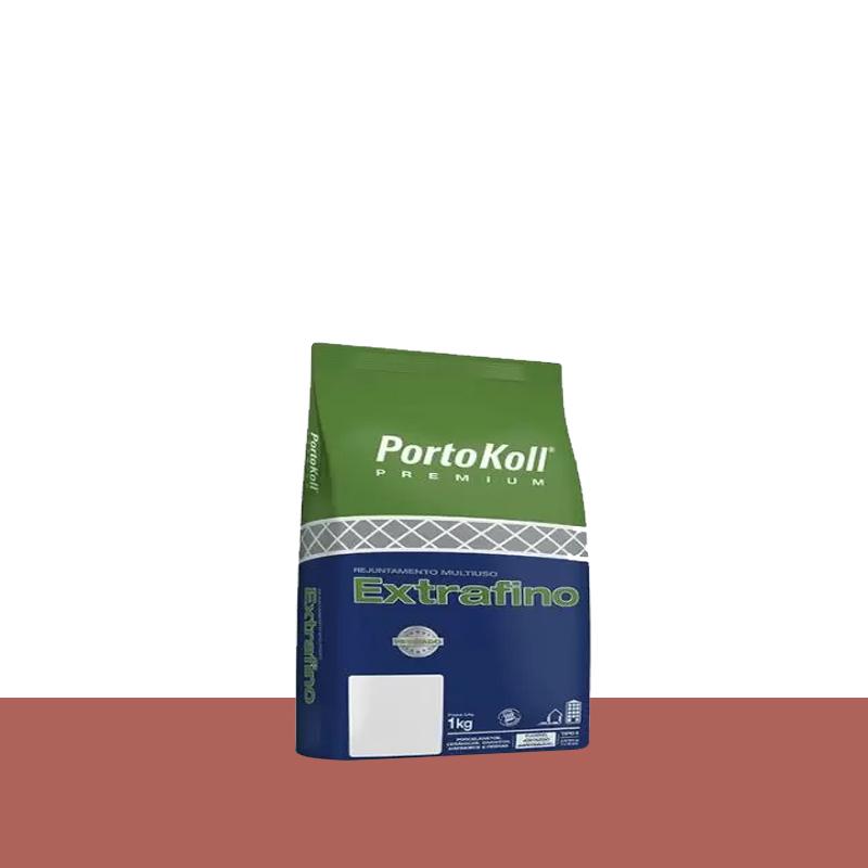 Rejunte Extra Fino 1Kg Cerâmica Portokoll