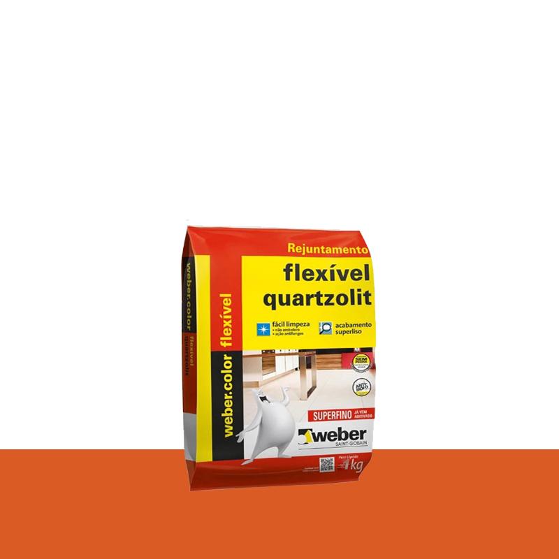 Rejunte Flexivel 1Kg Cerâmica Quartzolit