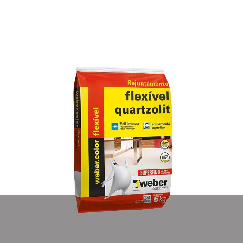Rejunte Flexível 5Kg Cinza Ártico Quartizolit