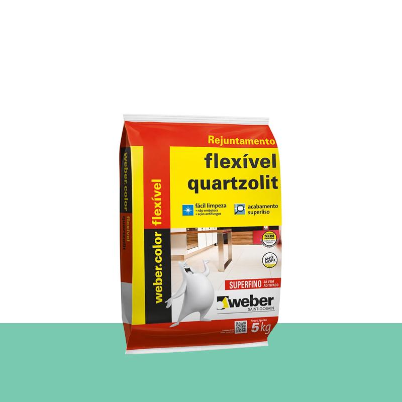 Rejunte Flexível 5Kg Hortelã Quartzolit