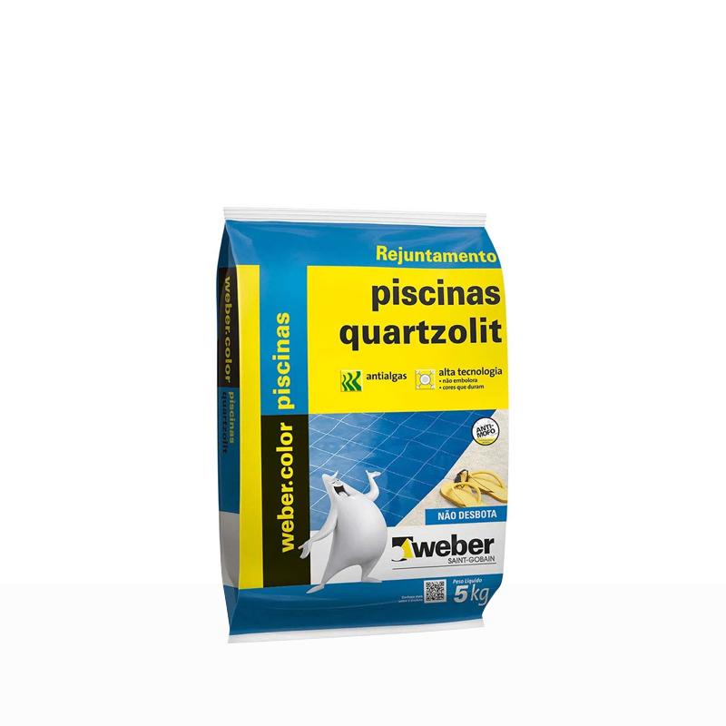 Rejunte Piscina 5Kg Branco Quartzolit