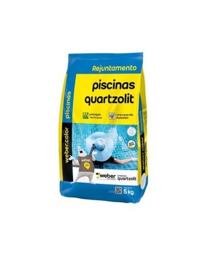 Rejunte Piscina 5Kg Azul Cobalto Quartzolit