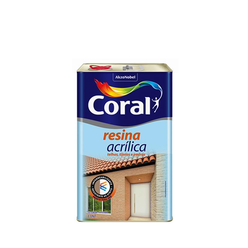 Resina Acrilica 5L Coral