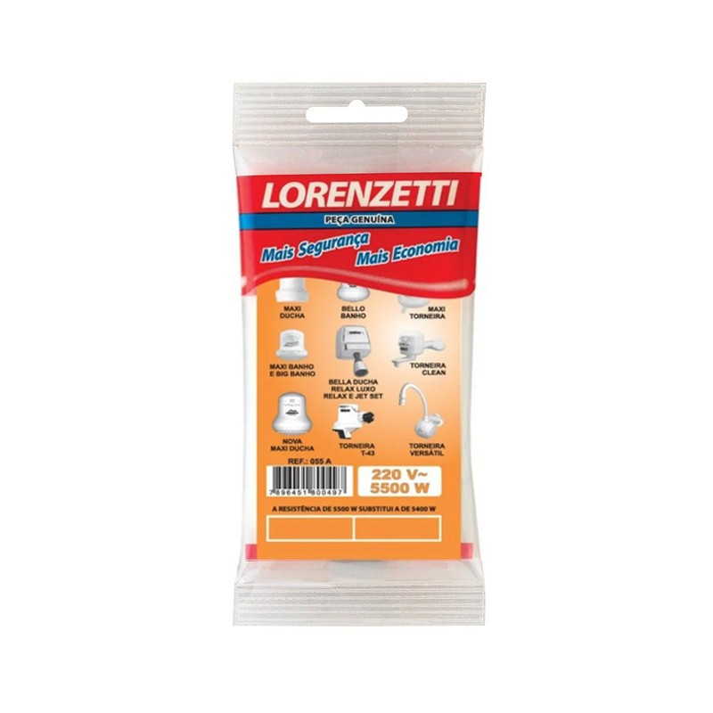 Resistência 220V Md/J3 055 R Lorenzetti
