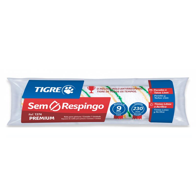 Rolo De Lã Antigota 23Cm 1374 Premium Tigre