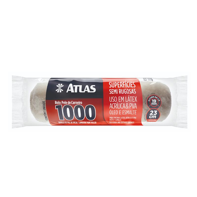 Rolo De Lã 1000 23Cm Atlas